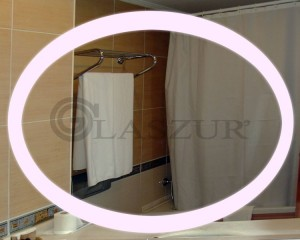 Зеркало с LED подсветкой Glaszur № 13