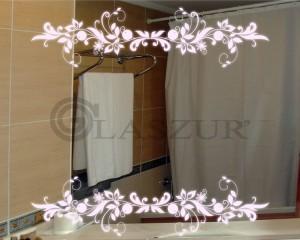 Зеркало с LED подсветкой Glaszur № 17