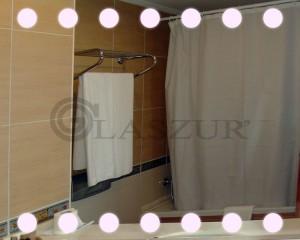 Зеркало с LED подсветкой Glaszur № 20