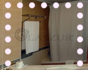 Зеркало с LED подсветкой Glaszur № 22