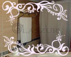Зеркало с LED подсветкой Glaszur № 28