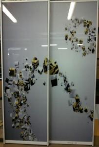 фотопечать на стекле Glaszur