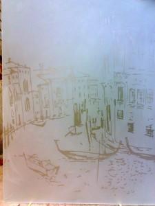 Пескоструйные рисунки по стеклу Glaszur