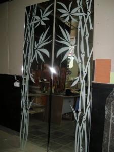 Пескоструйные рисунки на зеркале Glaszur