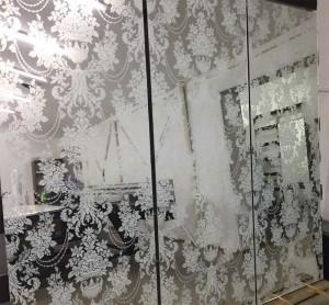 уф печать на зеркале Glaszur