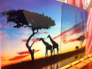 УФ печать на стекле Glaszur